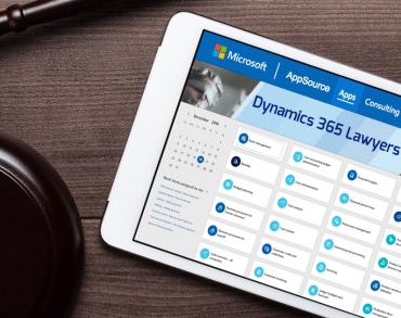 Dynamics 365 Lawyers is now available in the Microsoft AppSource.